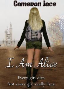 I AM ALIVE new cover